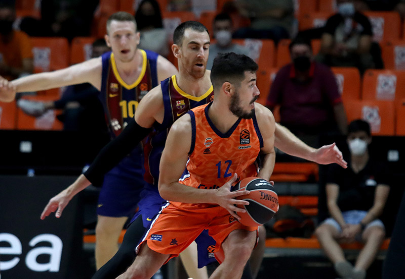 Cr�nica Valencia Basket (66) vs Bar�a Basket (71)
